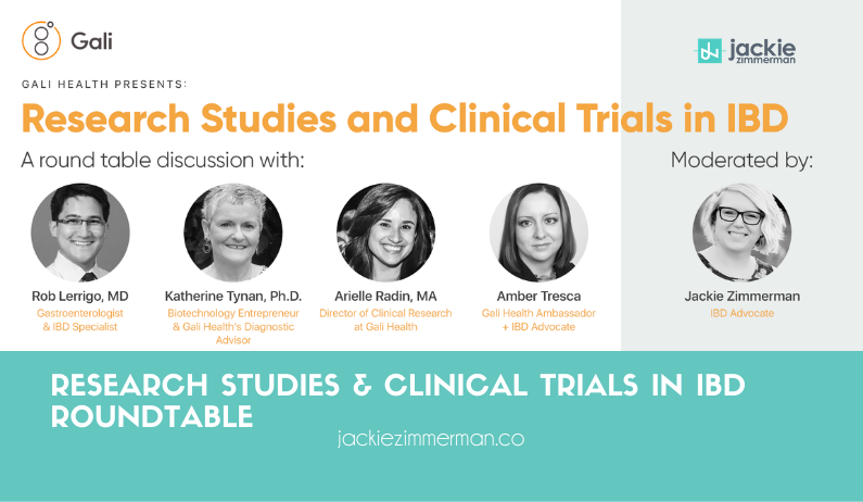 Research Studies & Clinical Trials in IBD Roundtable